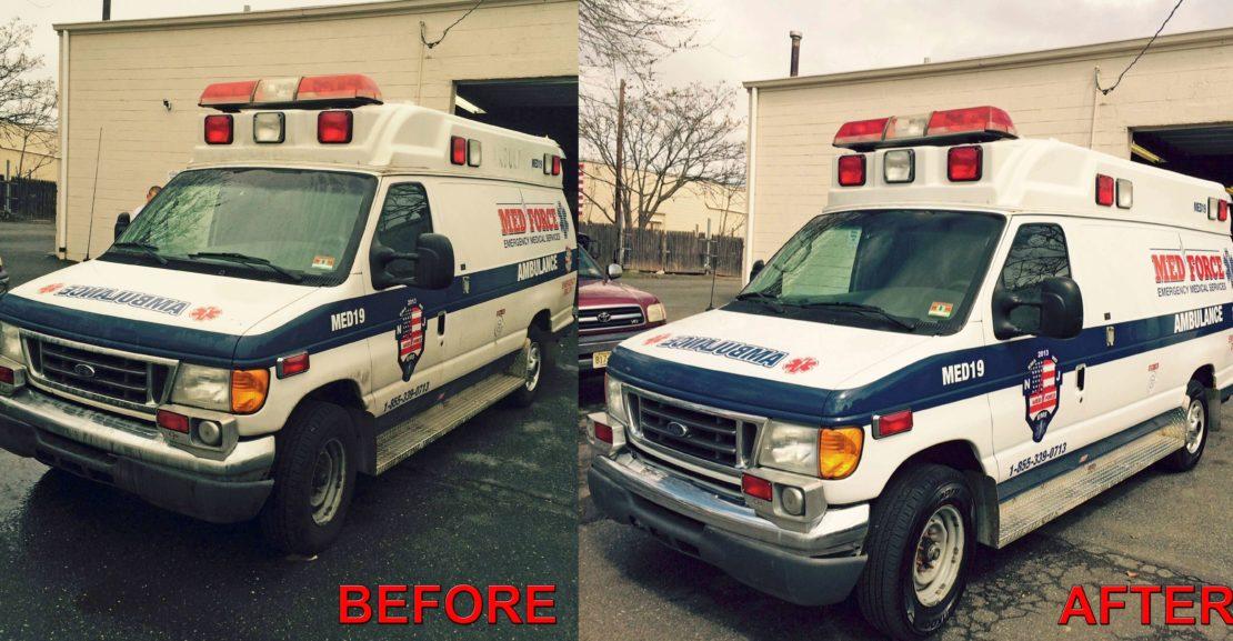 Ambulance Detailing New Jersey