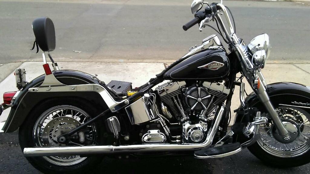 Harley motorcycle detailing NJ