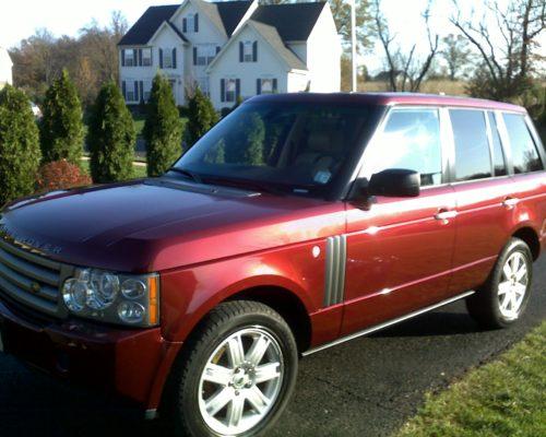 Range Rover detailing NJ