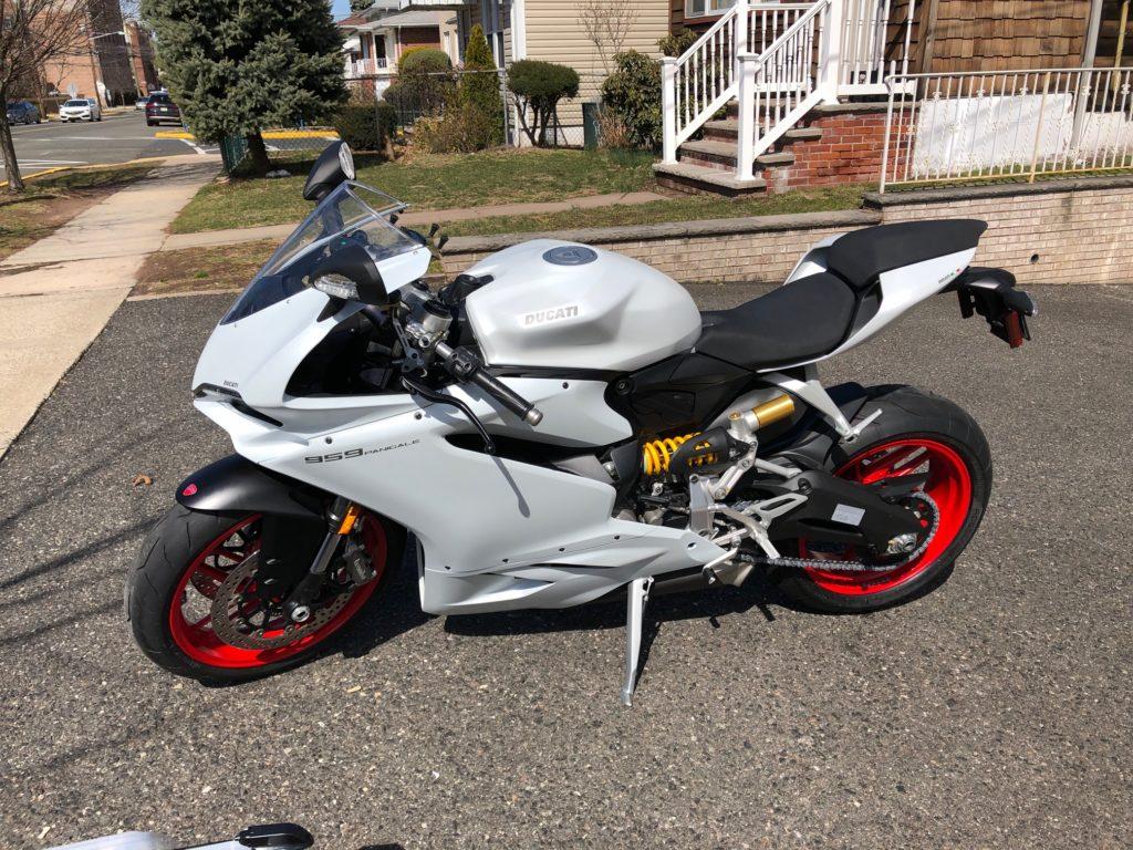 Ducati Motorcycle detailing NJ