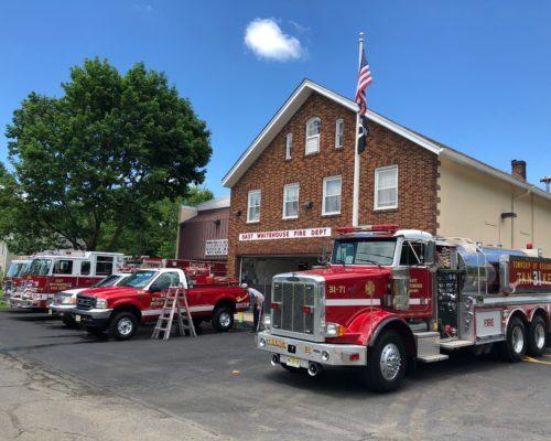 Fire truck detailing NJ