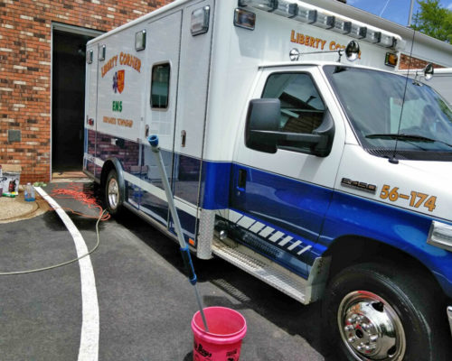 Ambulance detailing NJ